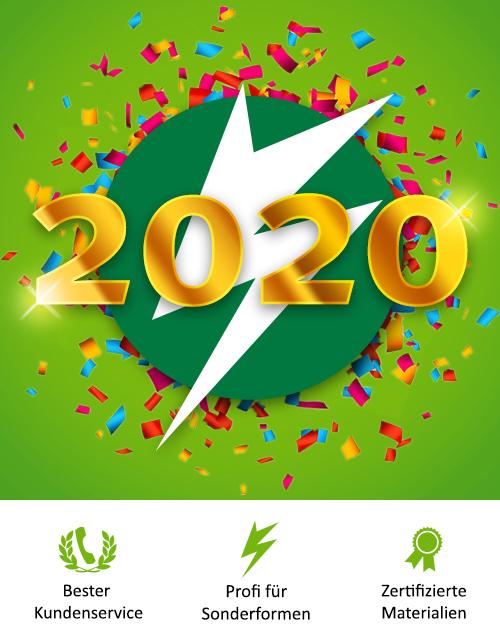 BannerSkandal wünscht Ihnen ein gesundes neues Jahr
