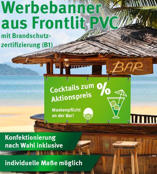 BannerSkandal: Werbebanner aus Frontlit ab 5,20 €/m² netto
