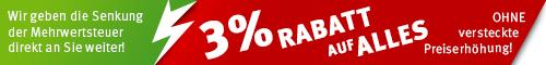 BannerSkandal und Fahnenskandal - wir geben die Mehrwertsteuer direkt an Sie weiter